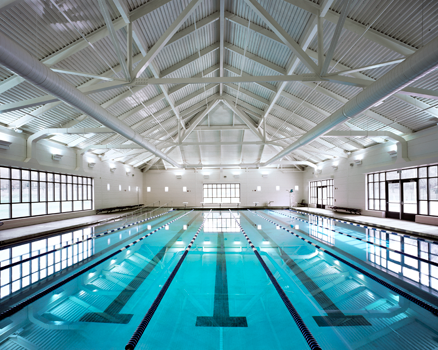 pope park rec center indoor swimming pool picture