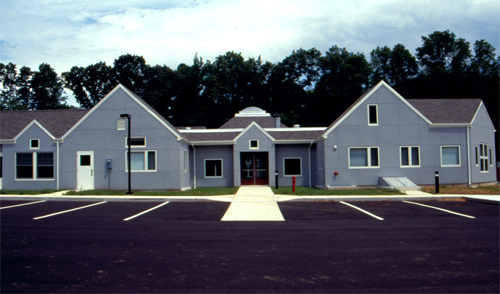 Main entrance Mansfield day care picture