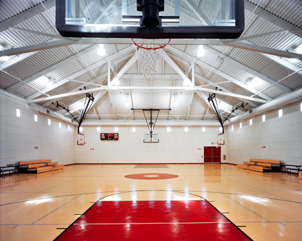 pope park rec center gymnasium picture