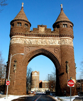 soldiers and sailors memorial arch picture