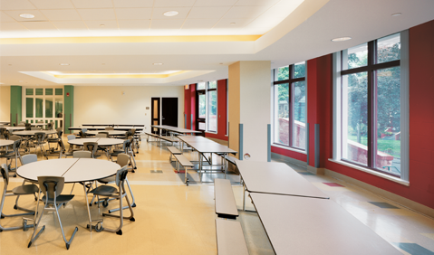 noah webster school cafeteria image